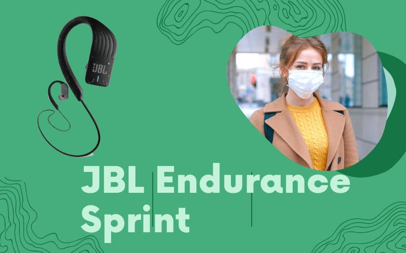 Endurance sprint wireless JBL headphones