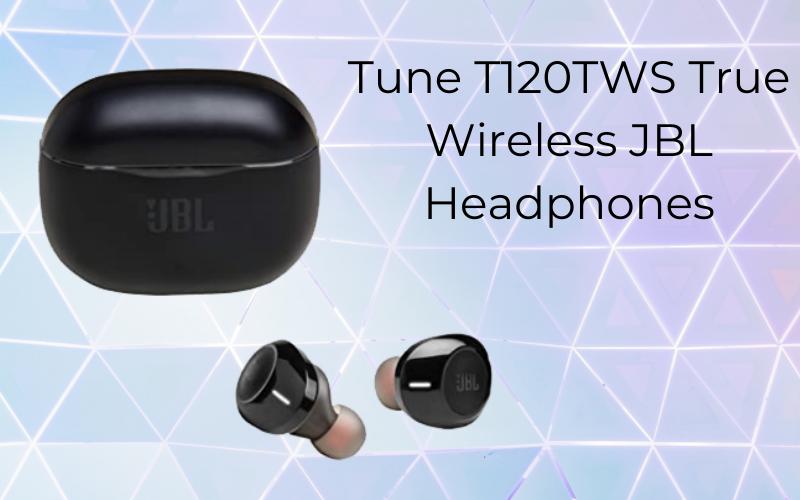 Tune T120 TWS True wireless JBL headphones