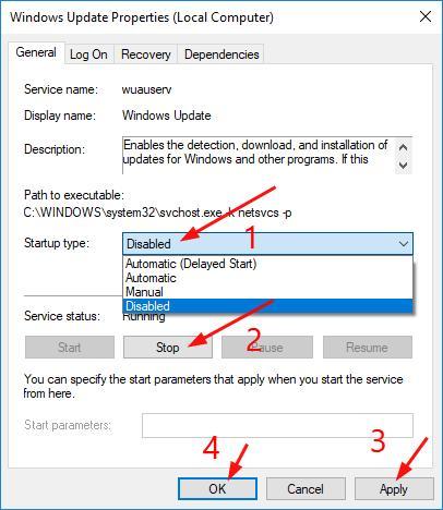 Windows module installer worker